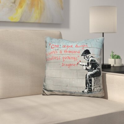 One Original Thought Throw Pillow