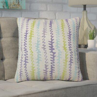 Dozier Zigzag Throw Pillow Color: Kismet