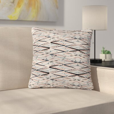 Fernanda Sternieri Move Abstract Outdoor Throw Pillow Size: 18 H x 18 W x 5 D