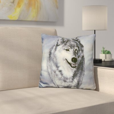 Lord of the Winterland Throw Pillow