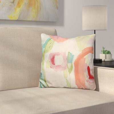 Floral and Botanical V Throw Pillow