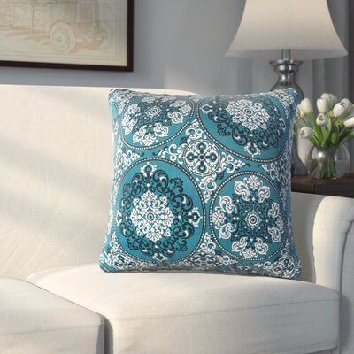 Slatedale Throw Pillow Color: Teal