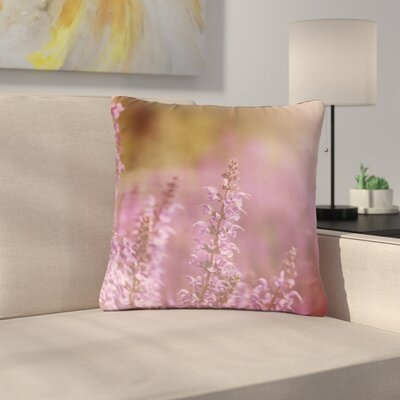 Angie Turner Growing Wild Nature Outdoor Throw Pillow Size: 18 H x 18 W x 5 D