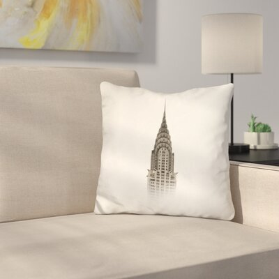 Marson Chrysler Building Nyc Throw Pillow