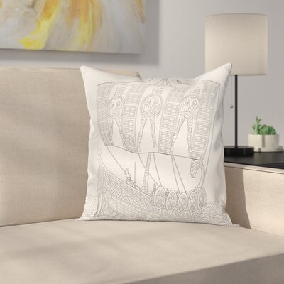 Soldiers Pillow Cover Size: 24 x 24
