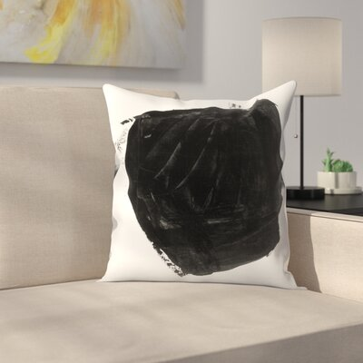 Olimpia Piccoli Without Words Vi Throw Pillow Size: 18 x 18