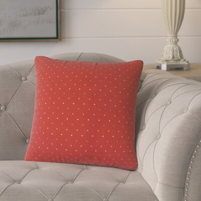 Poulsen Polka Dot Cotton Throw Pillow