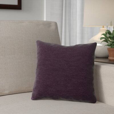 Danin Outdoor Throw Pillow Color: Eggplant, Size: Large