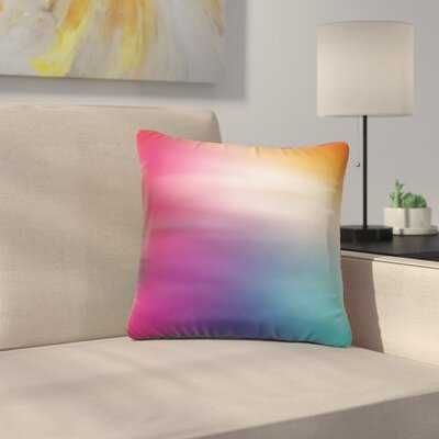 Rush Love Outdoor Throw Pillow Size: 18 H x 18 W x 5 D
