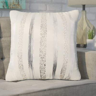 Cataldo Decorative 100% Cotton Throw Pillow Color: Ivory