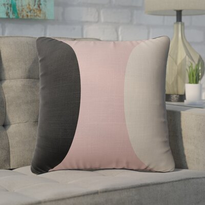 Rina Throw Pillow Size: 16  x 16