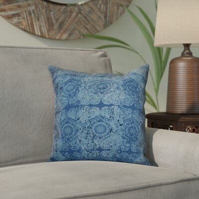 Clarence Geometric Throw Pillow Size: 20 H x 20 W x 2 D, Color: Blue