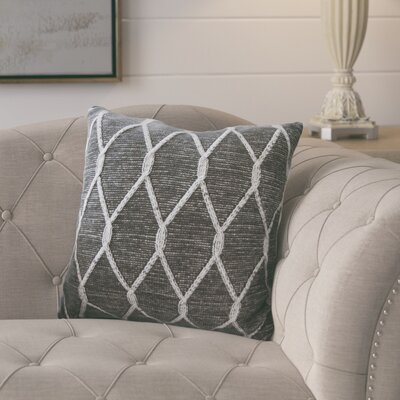 Dorning Knitted Throw Pillow