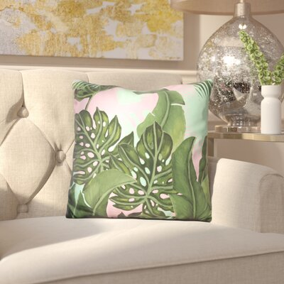 Ellery Neon Jungle Throw Pillow