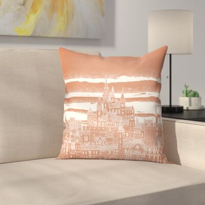 Jupiter Throw Pillow Size: 18 x 18