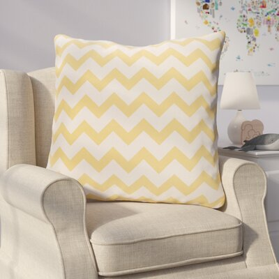 Milo Decorative Outdoor Pillow Color: Yellow, Size: 20 H x 20 W x 1 D
