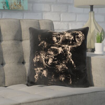 Kempf Lost in Space Throw Pillow