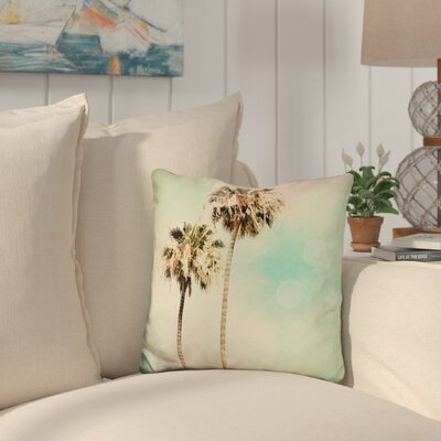 Burson Palm Trees Throw Pillow