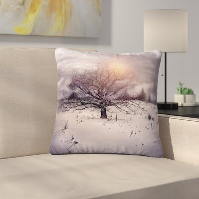 Viviana Gonzalez Lone Tree Love II Outdoor Throw Pillow Size: 18 H x 18 W x 5 D