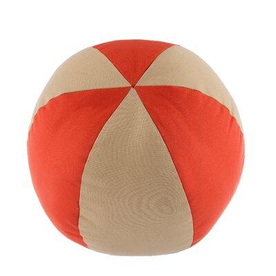 Jaimeela Cotton Throw Pillow Color: Orange
