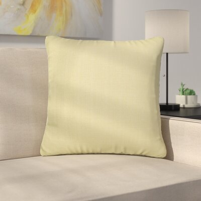 Alyssia Throw Pillow Size: 20 H x 20 W x 4 D, Color: Willow