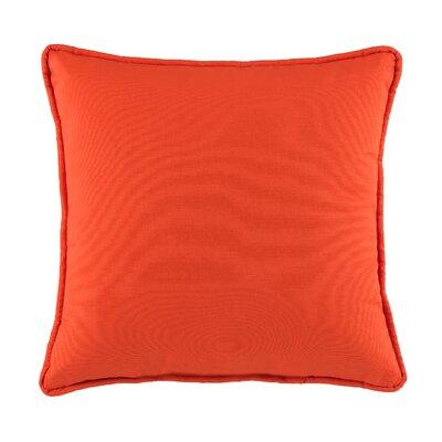 Cendy Cotton Throw Pillow Color: Spice Orange