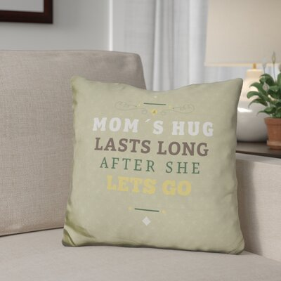 Gentile Moms Hug Throw Pillow