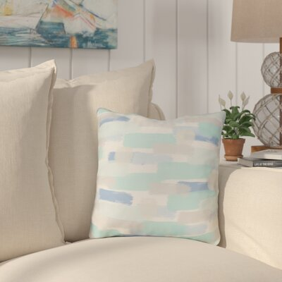 Chavers Indoor/Outdoor Throw Pillow Size: 18 H x 18 W x 4 D, Color: Blue