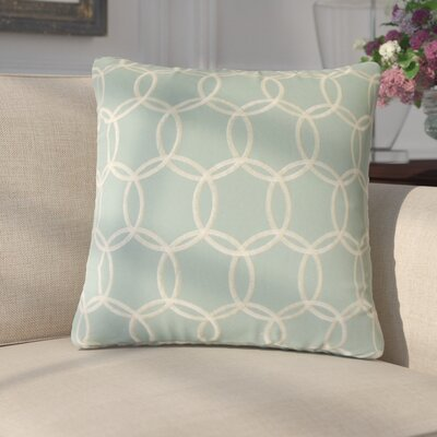 Arrigo Geometric Cotton Throw Pillow