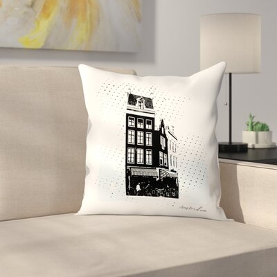 Amsterdam Throw Pillow Size: 14 x 14