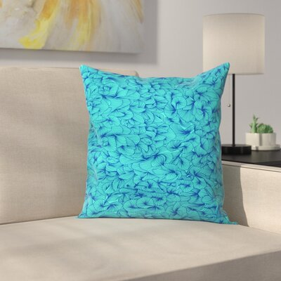 Cat Coquillette Inklings Throw Pillow Size: 16 x 16