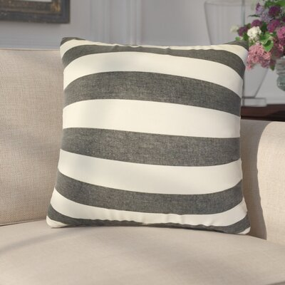 Gypsy Striped Down Filled 100% Cotton Throw Pillow Size: 22 x 22