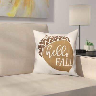 Shrader Hello Fall Acorn Pillow Cover