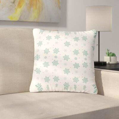Louise Snow Outdoor Throw Pillow Size: 16 H x 16 W x 5 D