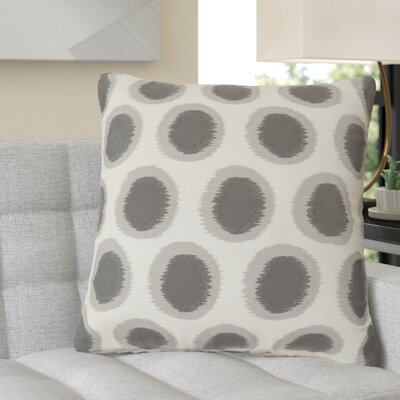 Jacob 100% Linen Throw Pillow Cover Size: 22 H x 22 W x 0.25 D, Color: NeutralGray