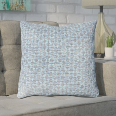 Foerster Geometric Diamond Throw Pillow Color: Blue