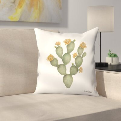 Prickly Pear2 Throw Pillow Size: 16 x 16