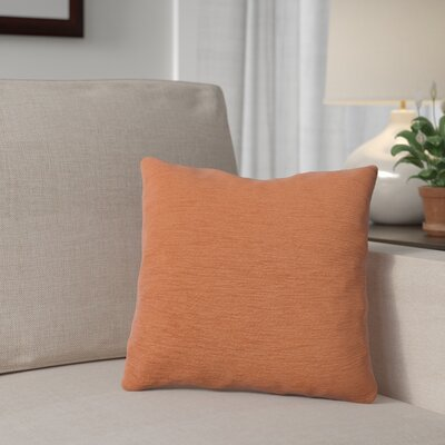 Danin Outdoor Throw Pillow Color: Tangerine, Size: Large
