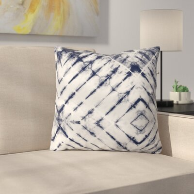 Little Arrow Design Co Shibori Tie Throw Pillow Size: 26 x 26