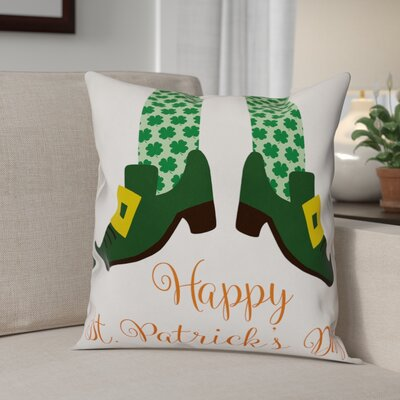 Bledsoe Happy St. Patricks Day Throw Pillow