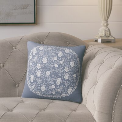 Nunda Floral Indoor/Outdoor Throw Pillow Size: 18 x 18
