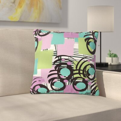 Chickaprint Solfege Outdoor Throw Pillow Size: 16 H x 16 W x 5 D