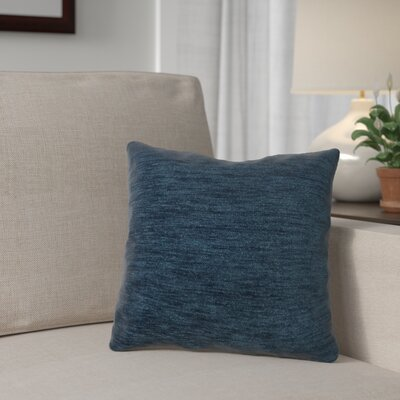 Danin Outdoor Throw Pillow Color: Peacock, Size: Large