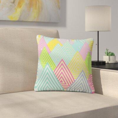 Angelo Cerantola Mountains Outdoor Throw Pillow Size: 18 H x 18 W x 5 D