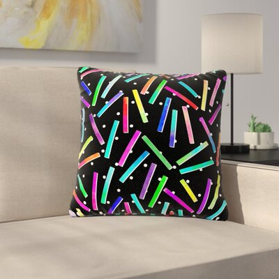 Noonday Design Confetti Party Outdoor Throw Pillow Size: 18 H x 18 W x 5 D