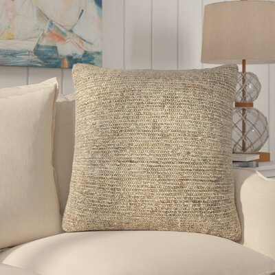 Saulsbury Solid Throw Pillow Fill Material: Polyester/Polyfill