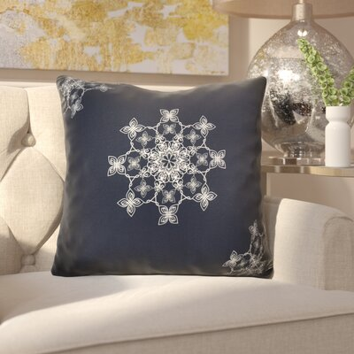 Decorative Holiday Geometric Print Throw Pillow Size: 26