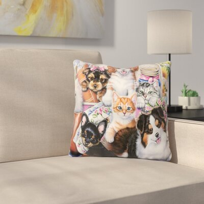 Fun Size Throw Pillow