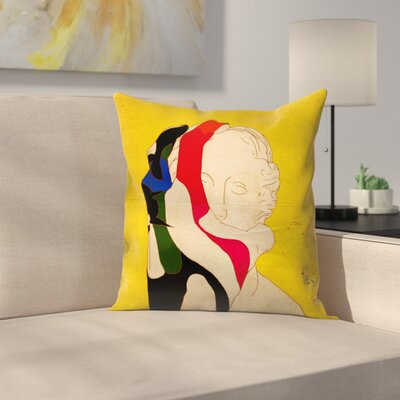 Kasi Minami Grim Reaper1 Throw Pillow Size: 14 x 14