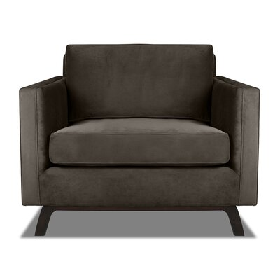 Prospect Armchair Upholstery: Charcoal